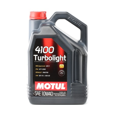 MOTUL TURBOLIFE 10W40.5L