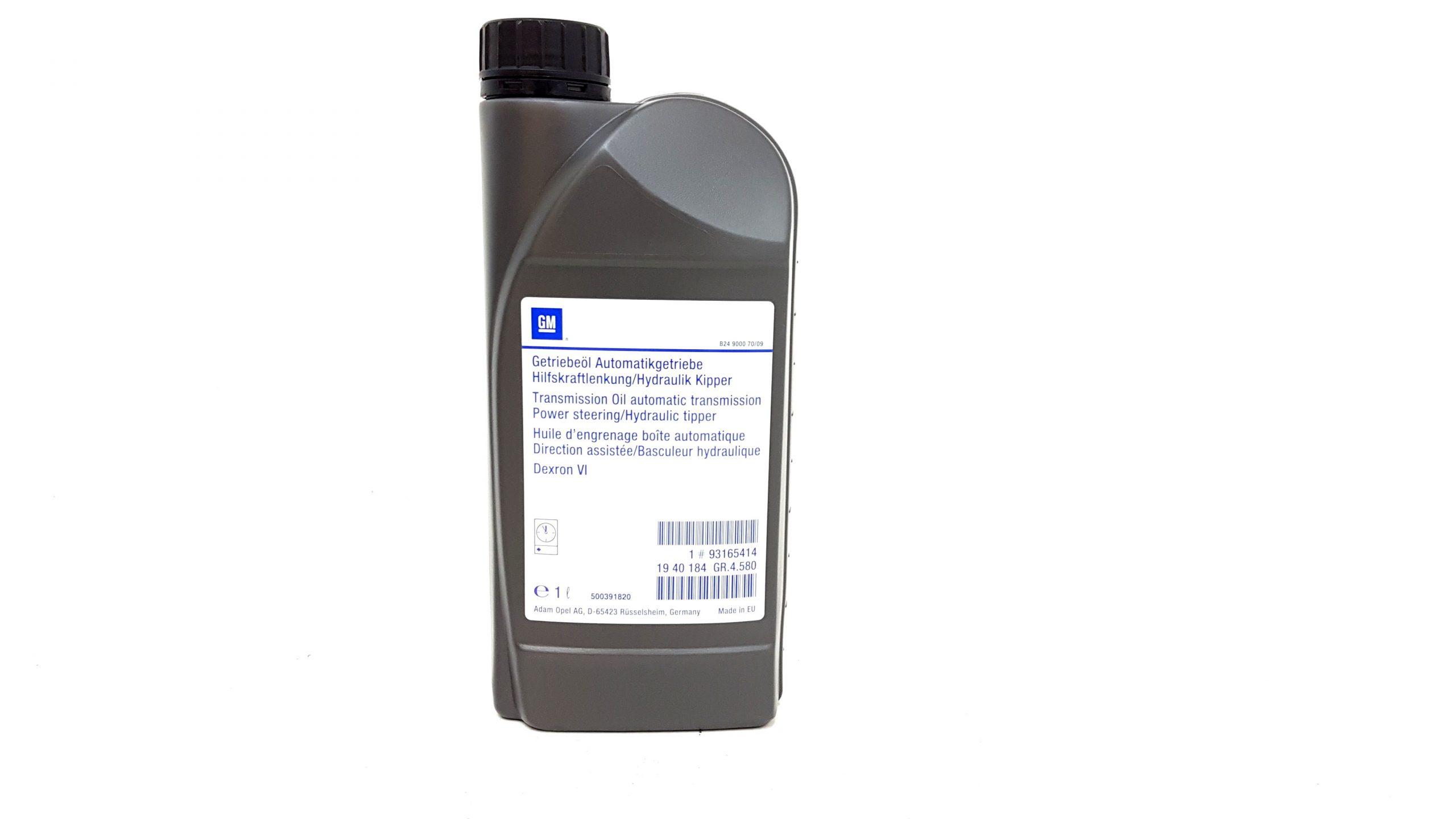 OPEL TRANSMISION OIL