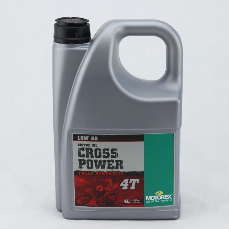 aceite-motorex-cross-power-4t-10w60-4l